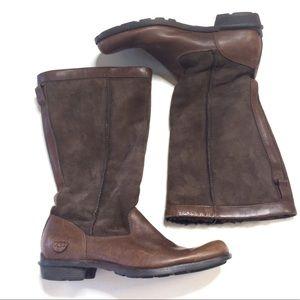 UGG Australia Brookfield Tall Leather Boots sz 9
